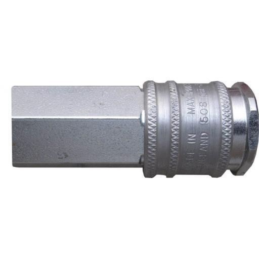 PCL Airline XF Coupling - 1/4 Female Thread - High Flow Coupling Connector Air Line Hosing Hose Compressor Fitting Air tool