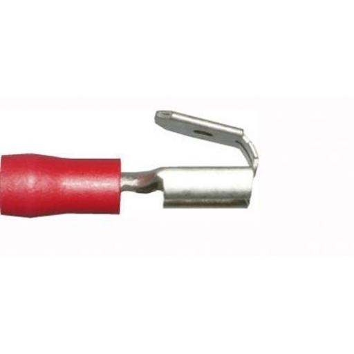 Red Piggy-back 6.3mm(crimps terminals)  - Red Car Auto Van Wiring Crimp Electrical Crimping Piggy Back  Connectors - Auto Electric Cable Wire