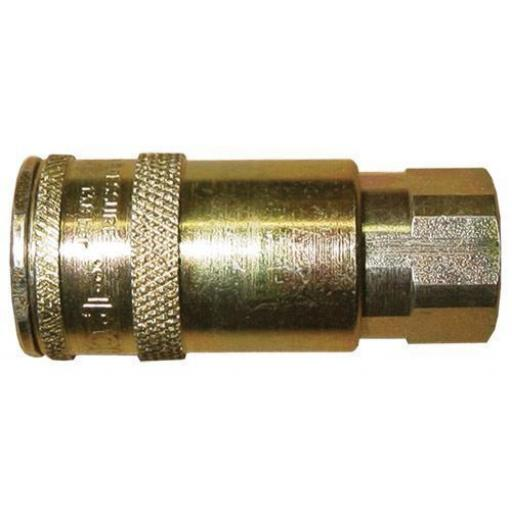 PCL Airline Female Vertex Coupling 1/4 BSP(3) - Coupling Connector Air Line Hosing Hose Compressor Fitting Air tool
