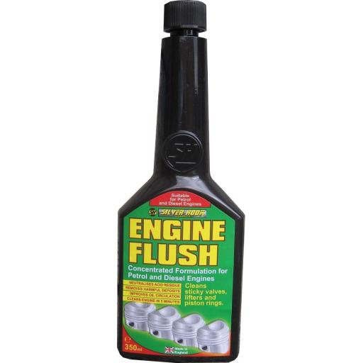 Engine Flush 350ml - For Petrol Or Diesel Engines Oil Flushing Clean Additive Car Van Truck