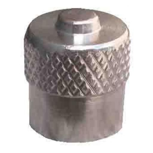 Tyre Valve Cap - Long Dome (100)- Tyre Tire Alloy Wheel Dust Valve Caps Universal Car Bike Cycle