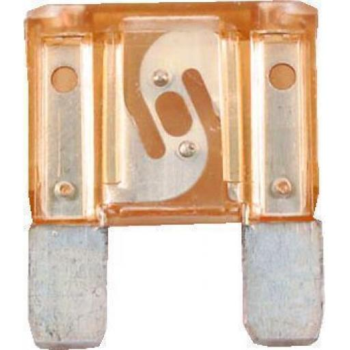 MAXI Blade Fuses 40 Amp ORANGE - 40A Orange Maxi Large Big  Blade Wedge Spade Fuse - Car Van Truck Lorry Auto Tractor Marine Boat Wire Cable Wiring Electric