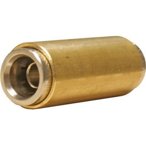 Norgren Fleetfit Brass Push Fit 15mm (2) Fitting Connector Joiner Coupling Truck Lorry