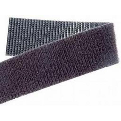 "Velcro ""One Wrap"" 16mm x 5m Black Velcro Cable Ties One Wrap Reusable Cable Tie Double Sided Strapping 200 -"