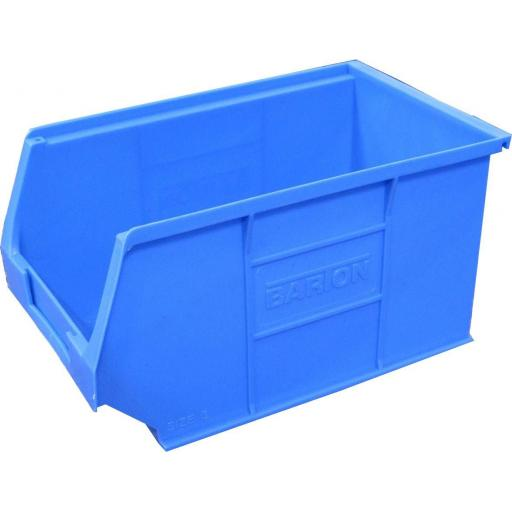 Storage Bin - Medium, 240 x 150 x 132mm - Linbin Bin  Plastic Tote Container Stackable Picking box Garage workshop
