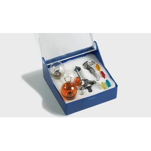 Bulb Kit containing EB448 (H1)- Car Auto Van Driving Light Bulb ,Headlight, Brake, Fog, Indicator , Bulb Fittings