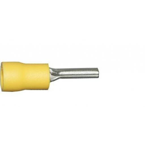 Yellow Pin 14.0mm (crimps terminals) - Yellow Car Auto Van Wiring Crimp Electrical Crimping Pin Joiner Connectors - Auto Electric Cable Wire
