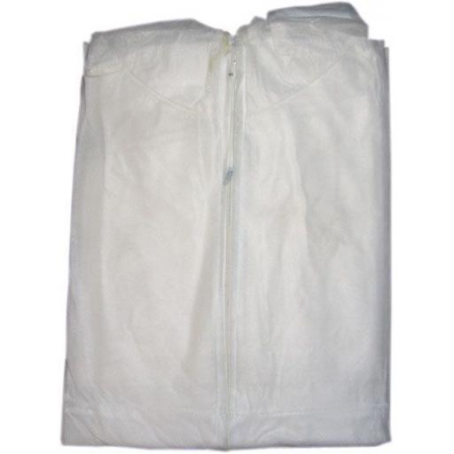 Overalls Disposable - White Coveralls Painters Protective Overall Boiler Suit Hood Lab Coat