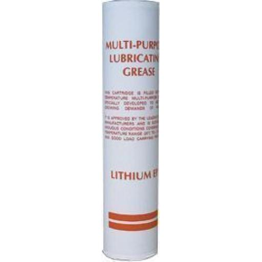 Lithium Grease Cartridge (400g) -  EP2 Grease Gun Cartridge Tube General Multi Purpose Heat Resistant