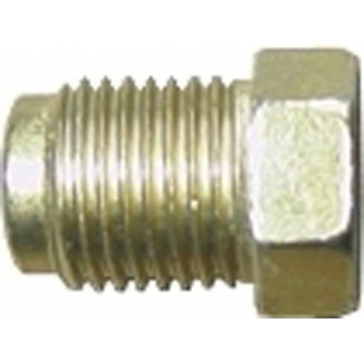 Copper Brake Pipe Nuts 10mm x 1mm MALE (50) - Most Popular (50)