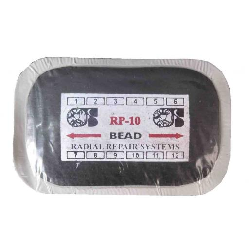 Tyre Patch - (radial) (10) Radial Tire Inner Tube Puncture Repair Patches Agri, Truck, Car,Van,Quad