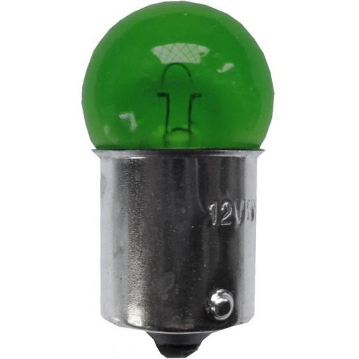 EB207 Bulbs Side/Tail 12v-5w SCC BA15S - GREEN