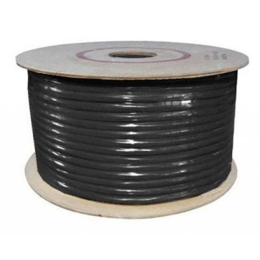 Single Core Cable 65/030 x 50m Black - Car Van Truck Tractor lorry Automotive Auto Electric Marine Cable Round Trailer Wire Wiring  PVC