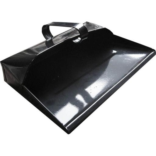 Metal Dust Pan - Workshop Garden  Office kitchen Warehouse School Factory Caravan Work