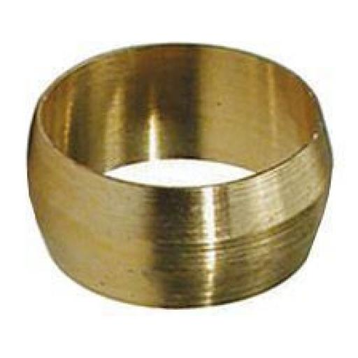 "1/4"" Brass Olives - Plumbing Olives Compression Quality Copper Tube Tubing Pipe Gas Water Air"