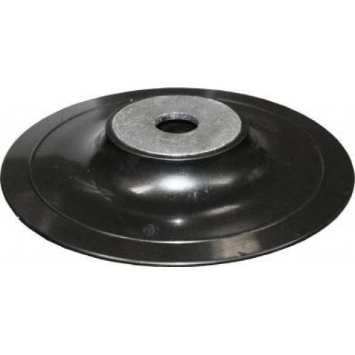 """115mm (41/2"""") Backing Pad for Fibre Backed Sanding Discs  Pad  Sandpaper Grinder Sander Polisher Various grit"""