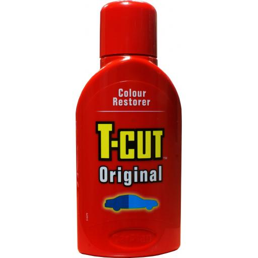 T-Cut Original (tcut) 375ml) - Car Van truck lorry Paint Restorer Scratch Remover Polish Cleaner