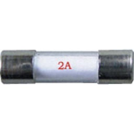 Radio Glass Fuses (20mm) 2 Amp - Car Boat Marine  Wire Cable Electrical Radio Stereo