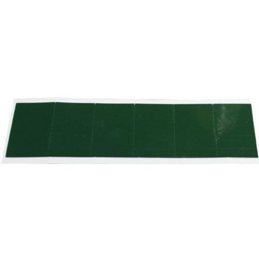 Mirror Pads (40mm x 28mm)Waterproof Black Adhesive Double Sided Foam Tape Car Trim Number Reg Plate Mirror