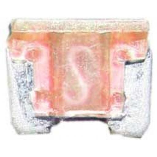 Micro Blade Fuses 4 Amp ( Pink) - 4A Pink Micro Small  Blade Wedge Spade Fuse - Car Van Truck  Auto SUV Low Profile  Wire Cable Wiring Electric