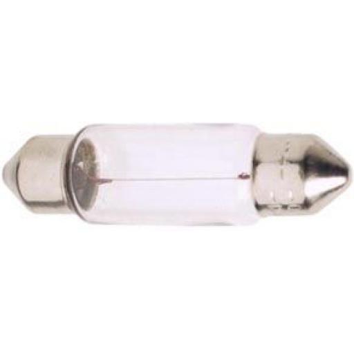 EB264 Festoon Bulbs 12v 10w (11 x 44mm) - Car Auto Van Driving Light Bulb , Brake, Fog, Indicator , Bulb Fittings