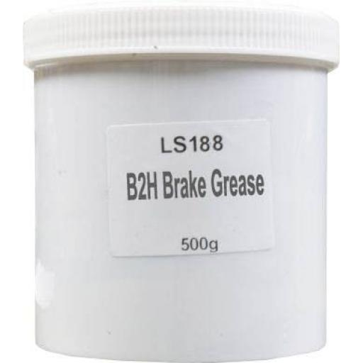 B2H Brake Grease (500g) - Suits Aluminium Cylinders and Sensors Brake Caliper Pads Shoes Assembly Squeal Noise Grease