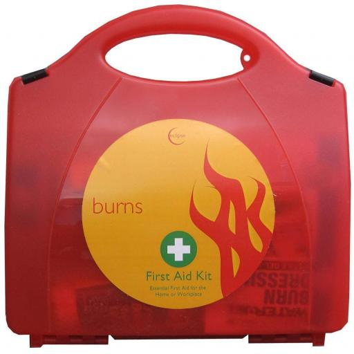 Burns Kit Medical Emergency Burns First Aid Kit - Kitchen cafÈ Catering Business Workplace