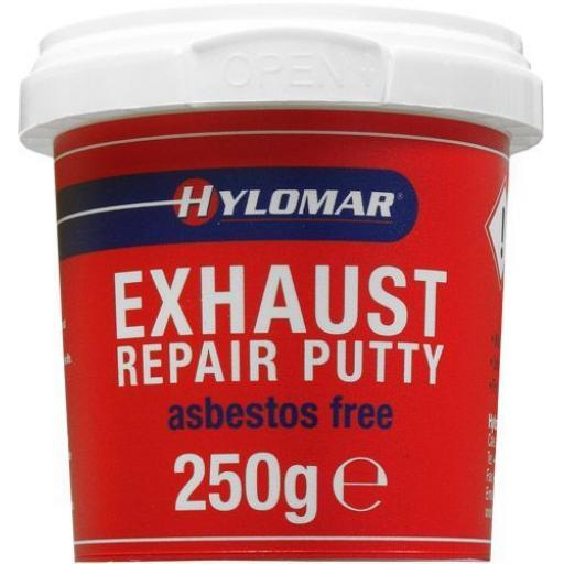 HYLOMAR Exhaust Repair Putty (250g) - ERP2 Asbestos Free Exhaust Silencer Repair Putty Paste Sealer