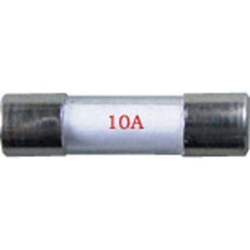 Radio Glass Fuses (20mm) 10 Amp - Car Boat Marine  Wire Cable Electrical Radio Stereo