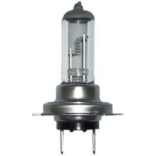 EB499 Bulbs Halogen 12v-55w H7 CAP  - Car Auto Van Driving Light Bulb  Main Headlight, Halogen Headlamp Lamp