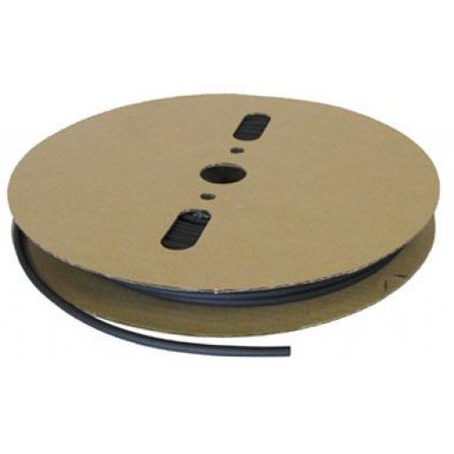 Adhesive Lined Heatshrink Tubing 4.8mm Black x 75m Roll-Car Auto Wiring cable Electrical Black Heat Shrink Tube Sleeving