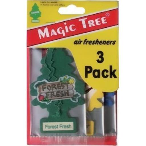 Magic Tree Air Freshener (Pack of 3) Car Van Truck Lorry Home Air Freshener Freshner Scent Smell