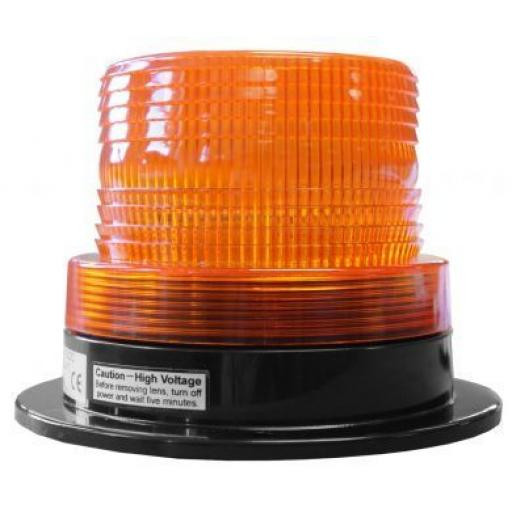 LED Strobe - Car Truck Emergency Strobe Amber Flashing Beacon Breakdown 12/24V