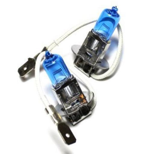 EB453-B Bulbs 12v-55w PK22S H3 CAP COOL BLUE