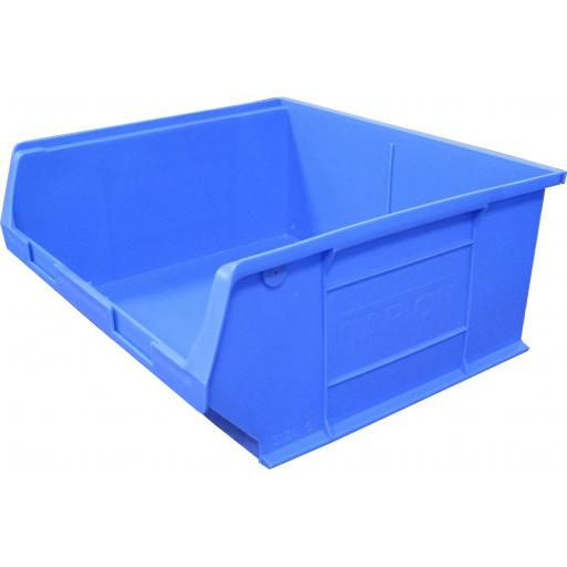 Storage Bin - Extra Large, 375 x 420 x 182mm - Linbin Bin  Plastic Tote Container Stackable Picking box Garage workshop