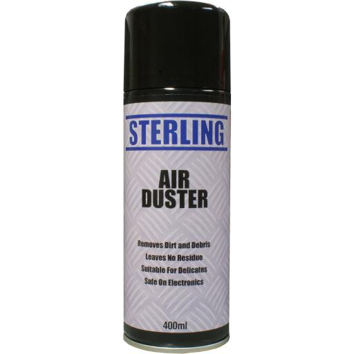 Sterling Air Duster - Aerosol/Spray (400ml)- Laptop Keyboard Mouse Computer Printer Phone Cleaner
