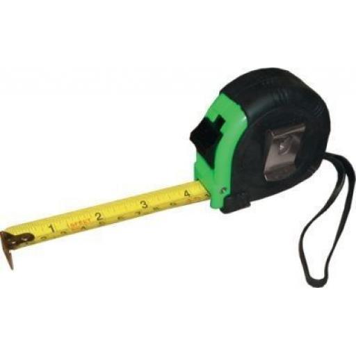 Tape Measure 5m x 19mm - Auto Lock Builders Home DIY Measuring Tools