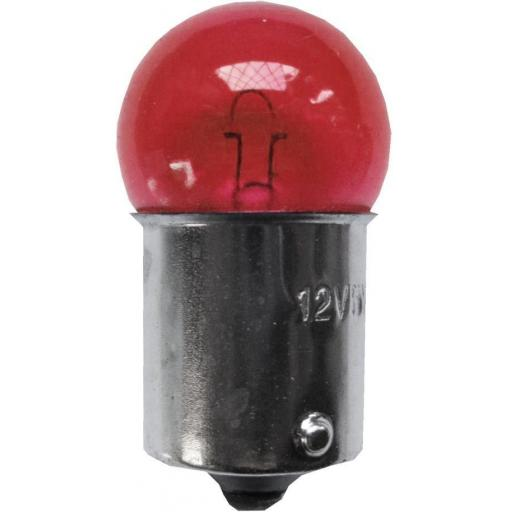 EB207 Bulbs Side/Tail 12v-5w SCC BA15S - RED