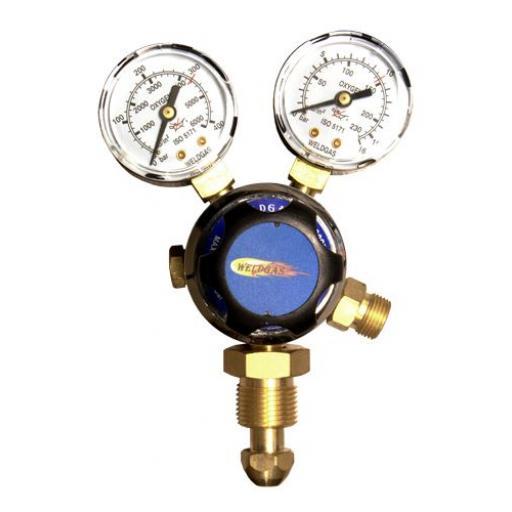 Welding Regulator (Oxygen) - Mig Tig Flow Meter Regulator Weld Gauge Gas Welder