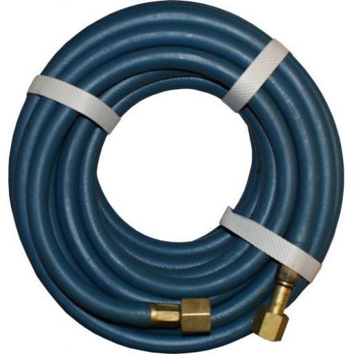Fully Fitted Blue Oxygen Hose - Gas Welding welder Hose Hosing  Suction Compressor Rubber Weld Hose