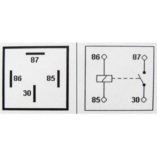 Relay 4-pin 12v 40A