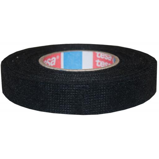 Tesa Fleece Harness Looming Tape (19mm x 25mtr) - Automotive Car Cable Looms Harness Wiring TAPE Adhesive PET Fleece Cloth
