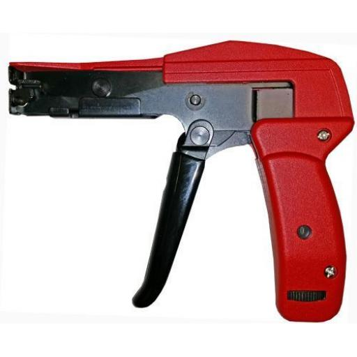 Cable Ties Tensioner and Cutter (Nylon ties)- Nylon Plastic Zip Wire Tie Wraps fastening electrical wiring
