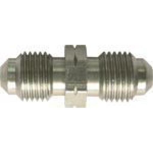 Copper Brake Pipe Male Connectors 10mm x 1mm (10) - Car auto connectors Nuts Unions
