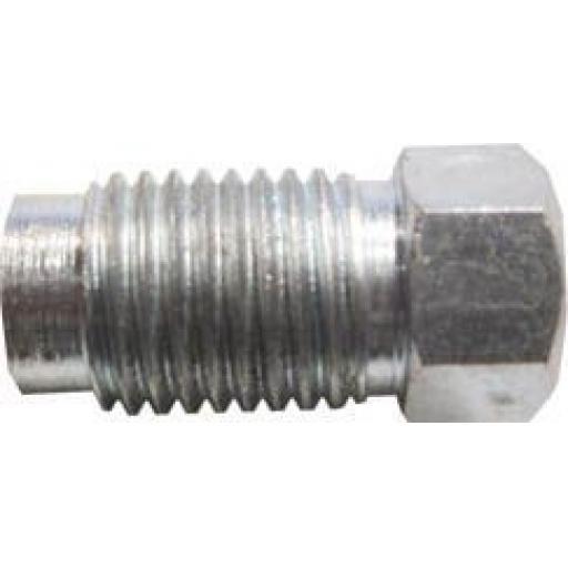 """Copper Brake Pipe Nuts 7/16"""" UNF male (25) - Car auto connectors Nuts Unions"""