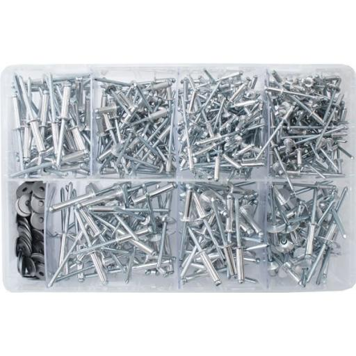 Assorted Pop Rivets (Popular) (475)