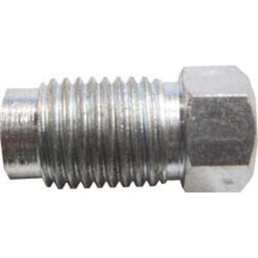 Copper Brake Pipe Nuts 3/16 x 3/8 UNF MALE (25) - Car auto connectors Nuts Unions