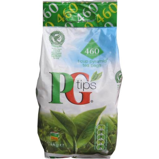 Tea (PG Tips 460 bags) 0% VAT- PG Tips Tea Shop Kitchen Catering Work Canteen Lunch Tea Break Drink