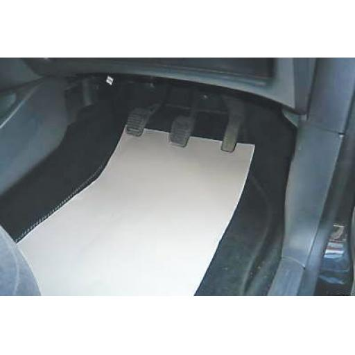 Paper Floor Mats (250/pk) -  Car Van Valeting Valet Protection Mechanic Garage