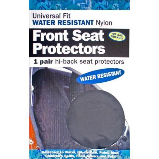 Heavy Duty Nylon Front Seat Covers (pair)  - Car Van Valeting Valet Protection Mechanic Garage